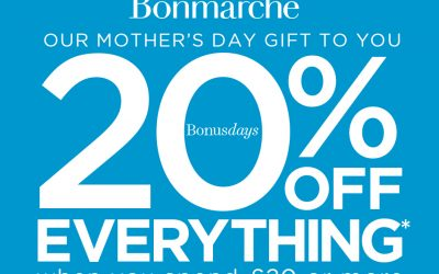 Bonmarché – 20% off Everything