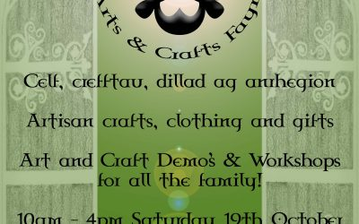 Two days until the Deiniol Arts & Crafts Fayre -Hope to see you !